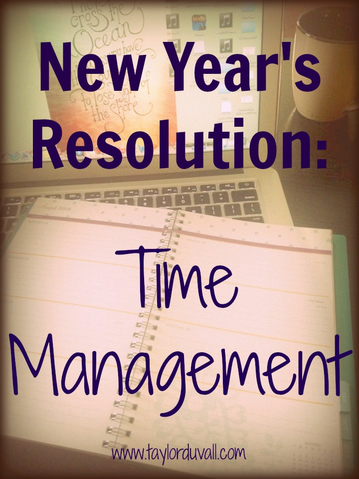 My New Year's Resolution – Time Management: Structured Enough for Success, Flexible Enough for Fun