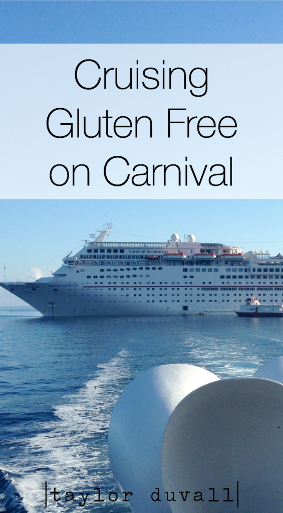 gluten free on carnival