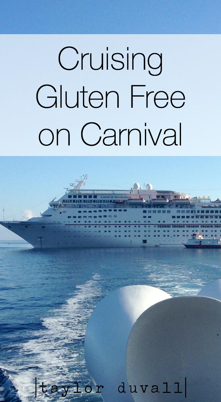 cruising gluten free on carnival taylor duvall