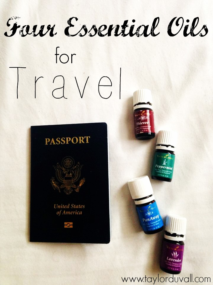 Four Essential Oils for Travel