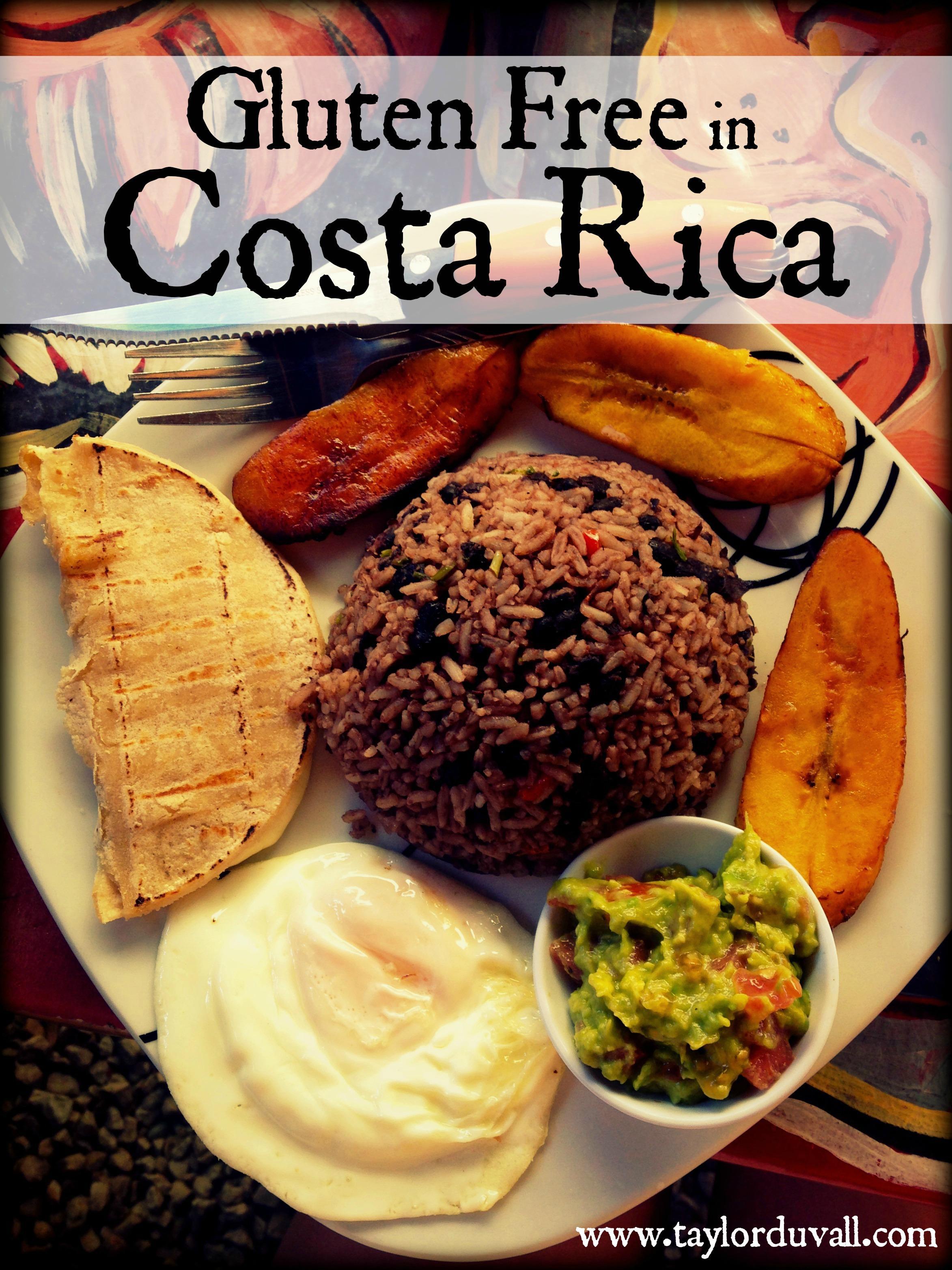 Gluten Free Costa Rica