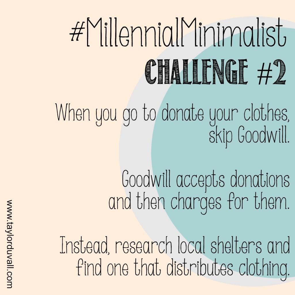 Minimalist Wardrobe Challenge