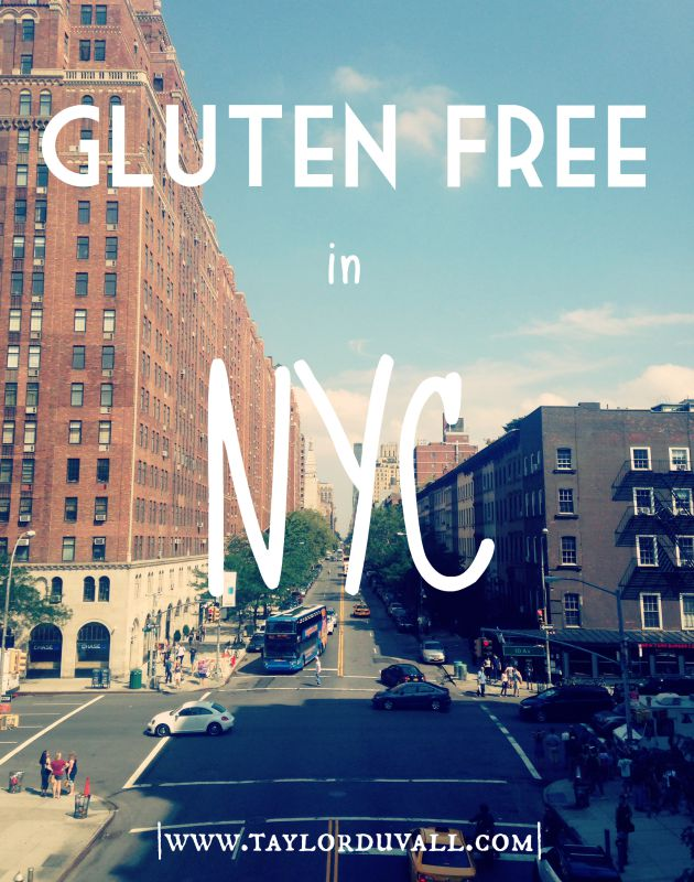 How to be Gluten Free in NYC