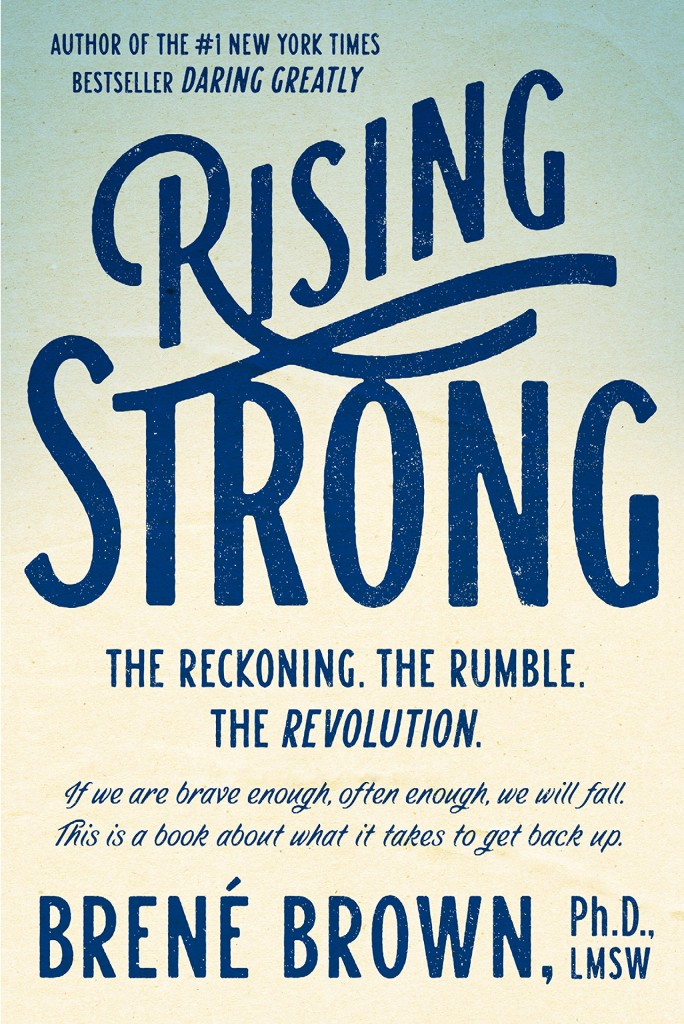 Book Talk: September 2015 - Rising Strong