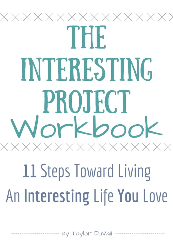 The Interesting Project Workbook