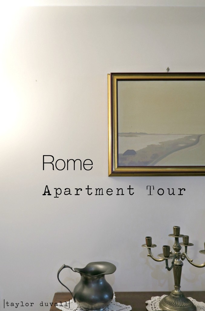 rome apartment tour